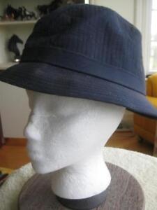 GENTLEMANS CASUAL SMART-LOOKING  NAVY BLUE TOTES HAT