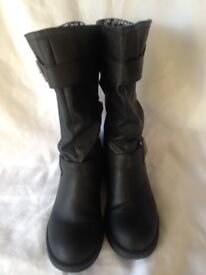 Rocket Dog Biker Boots Size 6 (39) Women's As New