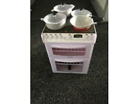 Kids battery operated play cooker