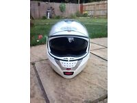 Caberg Justissimo GT Motorcycle Flip-front Helmet. As new condition.