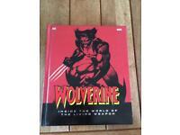 Wolverine reference book hard back