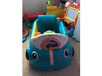 Blue fisher price car £20 Ono pet free smoke free home collection only