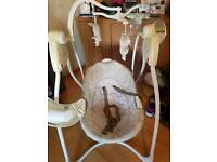 graco baby swing plays music and nature sounds