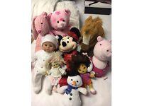 Teddys and dolls