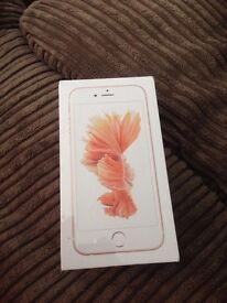 iPhone 6s Rose gold sealed