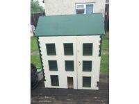 WOODEN DOLLS HOUSE RESTORATION PROJECT