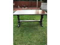 Pub style stretcher table ( can deliver )
