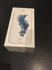 iPhone 6s 32gb brand new white silver O2