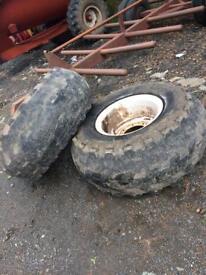 Tankers wheels