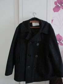 Two US Navy pea jackets