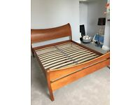 King sized silent night bed frame