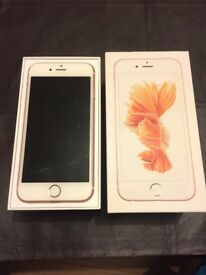 iPhone 6s 16GB Rose Gold Mint condition Unlocked