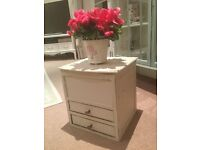 Gorgeous Shabby Chic French Storage Cupboard/Cabinet/Chest Box w/Drawers
