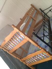 Pine bunk bed sale