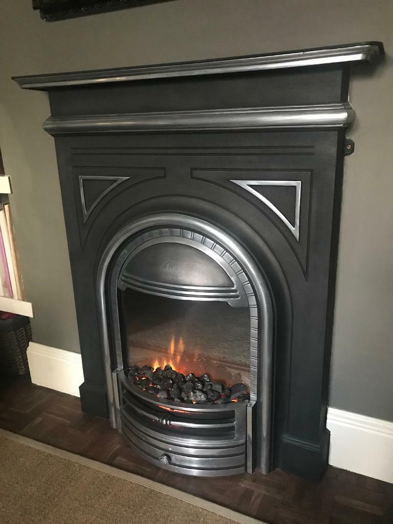Cast iron electric fire | in Portsmouth, Hampshire | Gumtree