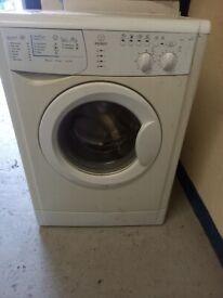 white zanussi washing machine