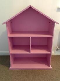 Dolls house style bookcase