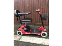 Pride ultra mobility scooter
