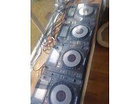 4 PIONEER CDJ 900 NEXUS