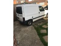 Peugeot partner van for sale spares or repair