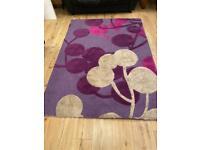 Large Next wool rug
