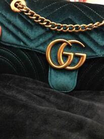 Velvet women handbag crossbody bag