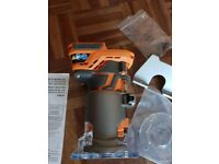 RIDGID (AEG) 18V Brushless Compact Router R86044 GEN5X 2xBase TOOL Only New 2018