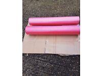 2 Foam Back Rollers
