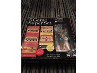 5 Game Super Set