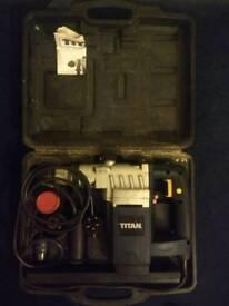 Titan 6kg SDS plus rotary hammer drill