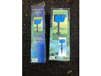 Garden electrical double sockets