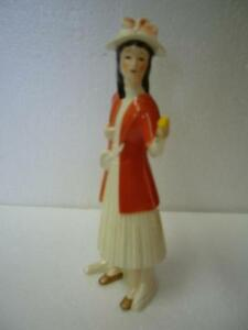 VINTAGE GOEBEL YOUNG GIRL FIGURINE