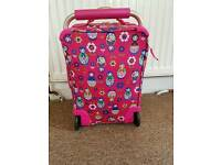 Girls suitcase. It luggage. Lightweight VGC