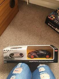 Bugatti veyron remote control car brand new