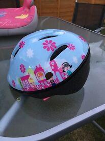 Girls cherry lane cycle helmet