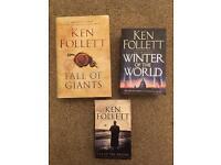 Collection of Ken Follett Books