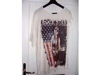 Ladies Rock Star T-Shirt, Size 12