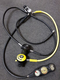 very recently serviced diving regulators for sale