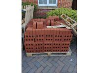 450 unused bricks for sale.