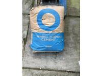 Blue circle cement