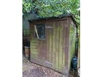 Free shed. Come and get it