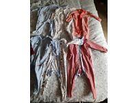 Baby boy Next sleep suits and grow bag