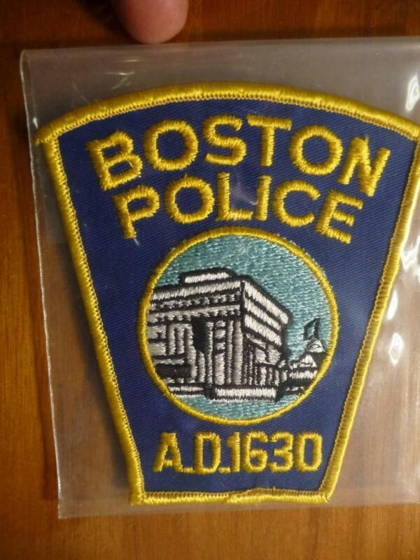 Vintage Boston Police Patch Pristine Mint SKU# 22204