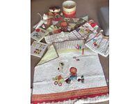 Nursery Bedding Decor Mamas Papas Jamboree Large Bundle 10