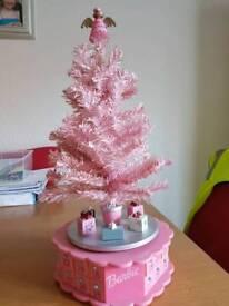 Barbie advent tree