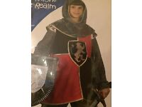 knight of the realm costume age 8-10
