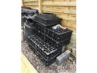 drainage soakaway crates