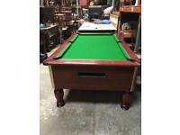 Pool table slate bed 7x4