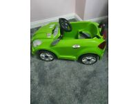 Kids Green Electric Car with music