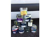 JOB LOT BRAND NEW TOP QUALITY PAINTS WAX AND VARNISH